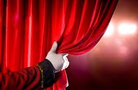 Improv open curtain